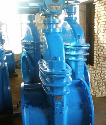 ball screw gate valve DN40-DN600