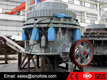 Big size spring stone cone crusher