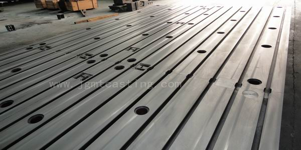 Cast Iron T-slotted Floor Plates