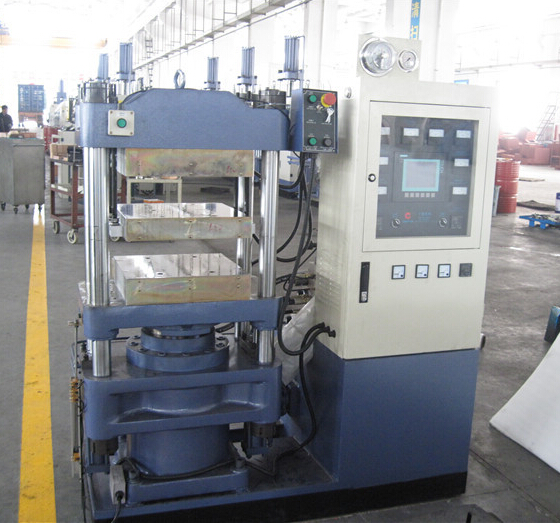 63T Silicone cutoff rubber molding machine
