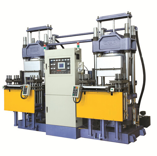 rubber compression molding machine for dust covers