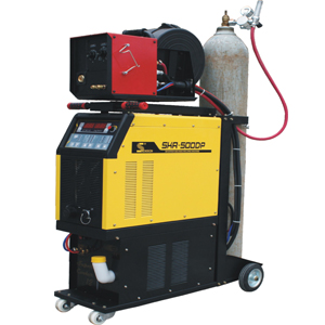 Digital double pulse multi-function MIG/MAG welding machine