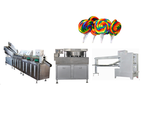 TK-300 COLORFUL FLAT LOLLIPOP MACHINE