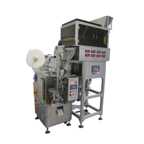 DXDCT-E8 pyramid tea bag packing machine