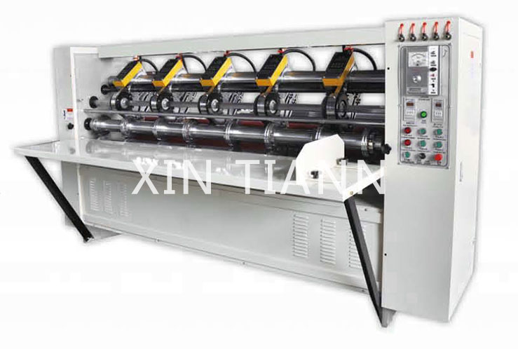 BFY-DDP Electric adjustment Tltin blade slitter machine