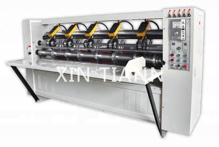 BFY-DDP Electric adjustment Tltin blade slitter machine