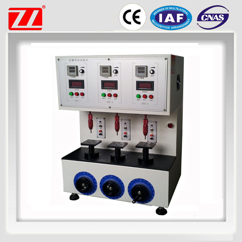 ZL-2801 Key and Botton Life Testing Machine