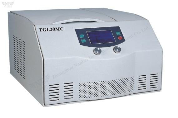 TGL20MC Table top high-speed refrigerated centrifuge