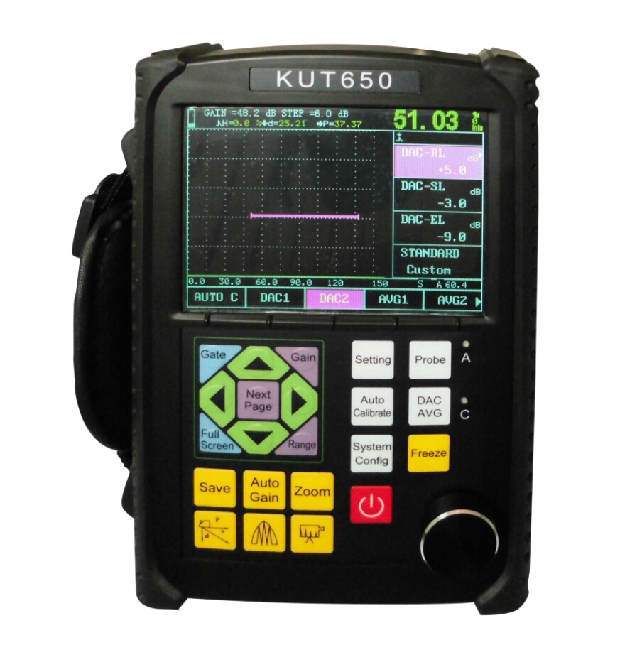 Portable Ultrasonic Flaw Detector KUT650