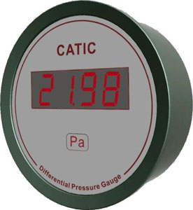 D2 Economical Ultra-thin Digital Differential Pressure Gauge