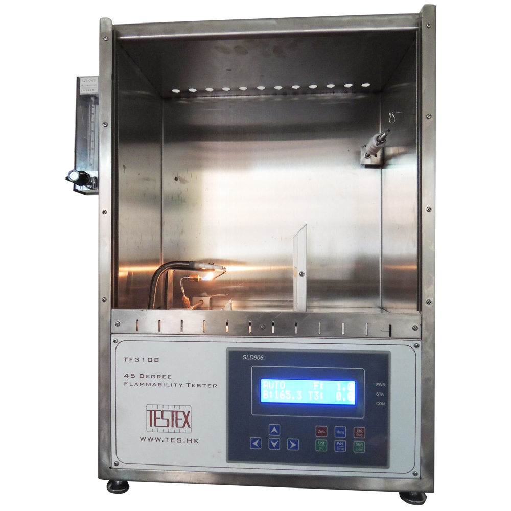 TF310A/B 	  45 Degree Flammability Tester
