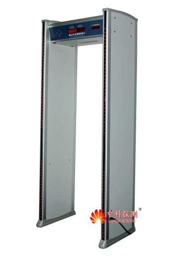 ZK-802 Professional walk-through Metal Detector