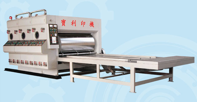 Large roller printing machine