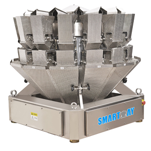 SW-M14 Modular 2.5L 14 Head Weigher in Dimple