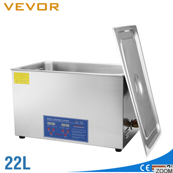 VEVOR CE Certification LPs Record Ultrasonic Cleaner