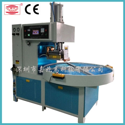 Rotary 4 station automatic high-frequency welding machine