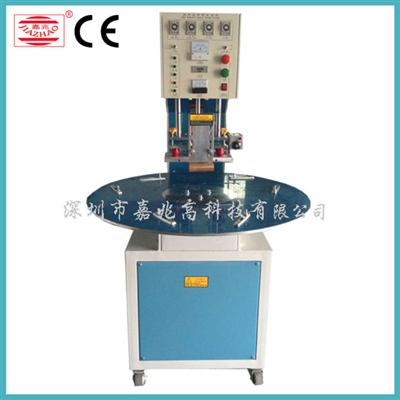 3/more workstation turntable disk pneumatic type HF welding machine