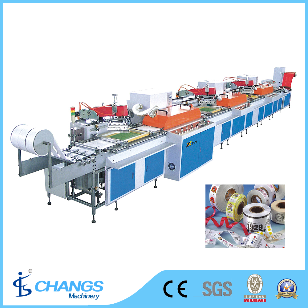SPR Series Roll to Roll Multi-color Automatic Screen Printing Machine