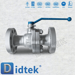 Cast Floating Metal Seated Ball Valve