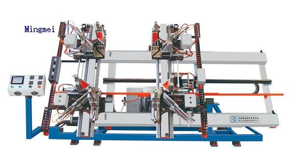 CNC Four-corner Vertidal Wedling Machine