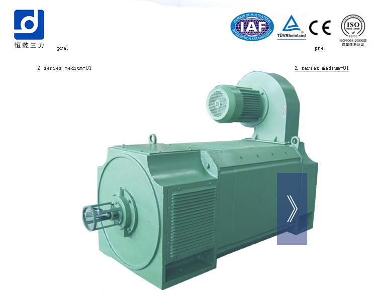 Z series 01 medium dc motor, dc motor,electric motor