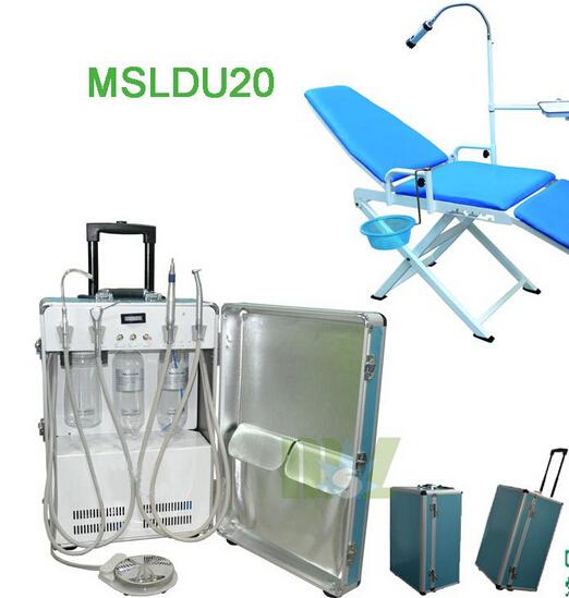 Brand new folding portable dental chair / dental unit for sale-MSLDU20