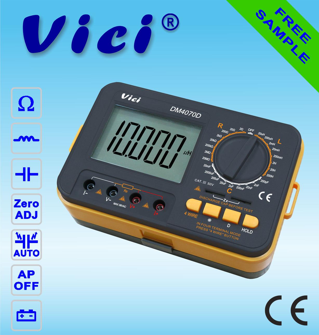DM4070D   4 1/2 Digital LCR Meter