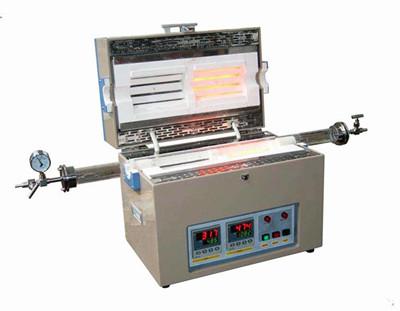 YFTL-1200-2 Doulbe heating zone tube