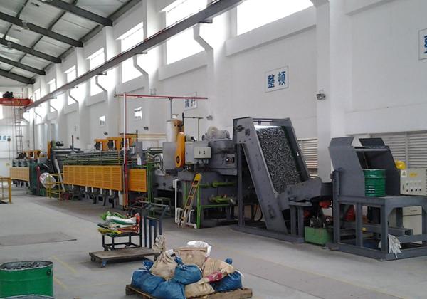 Continuous conveyor belt furnace