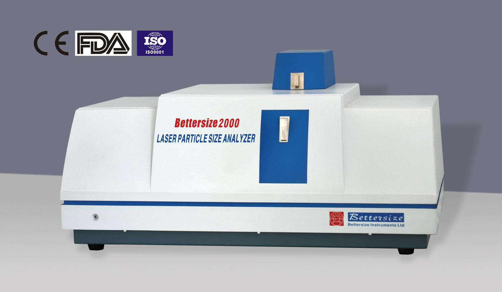 Bettersize 2000 Intelligent Laser Particle Size Analyzer