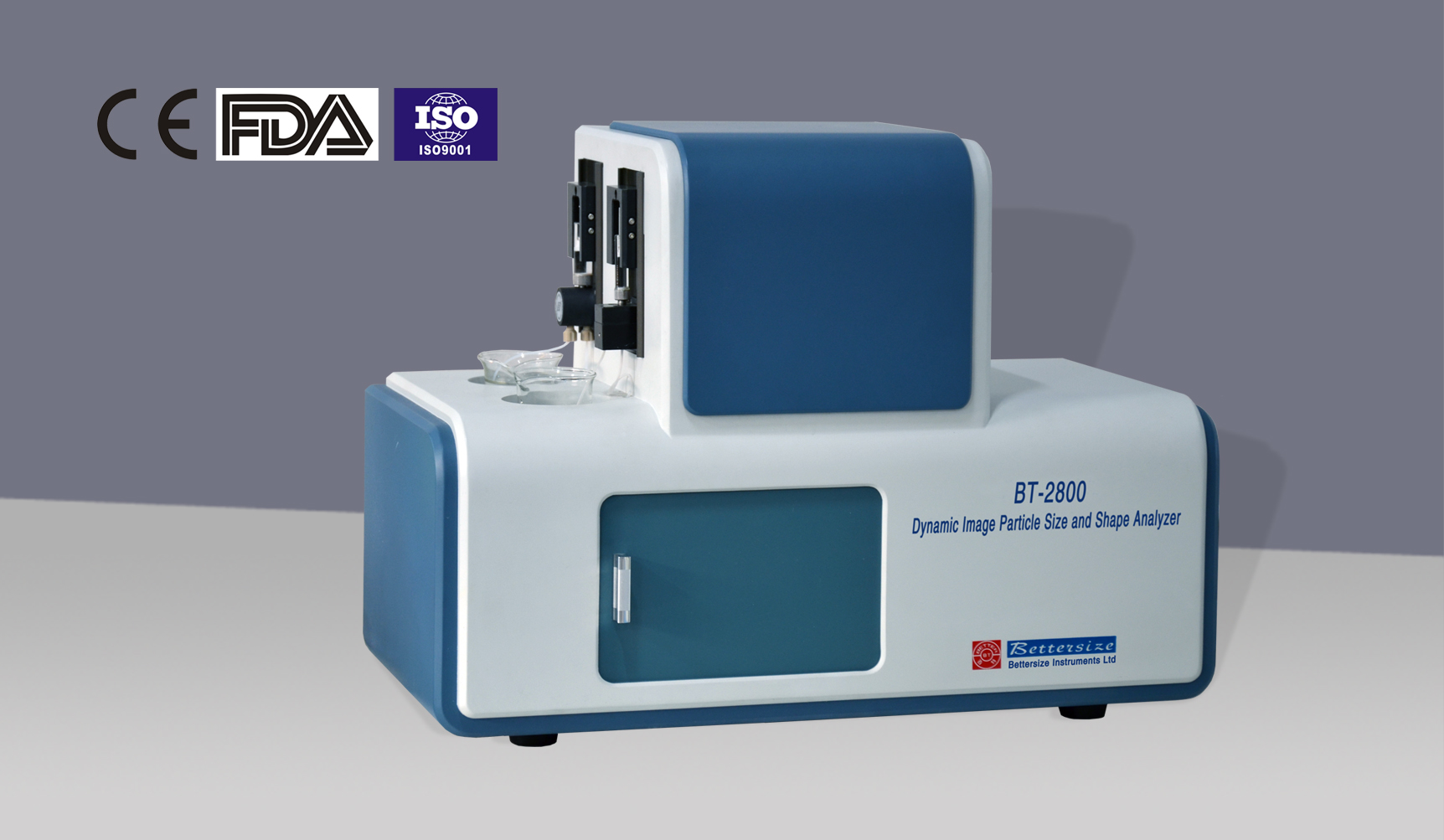 BT-2800 Particle Size and Shape Analysis System