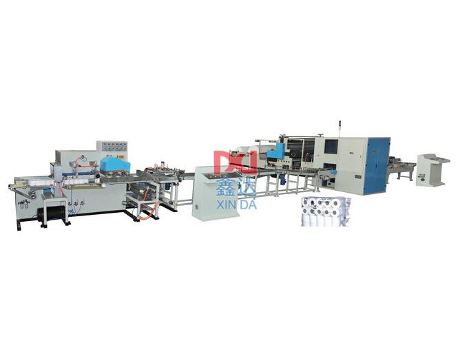 Полноавтоматическая линия производства туалетной бумаги