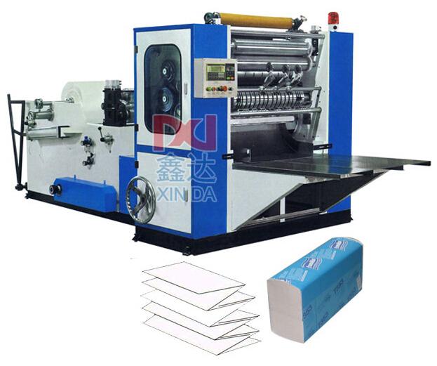 Полноавтоматическая машина туалетной бумаги с тремя складываниями по типу CIL-AS-288