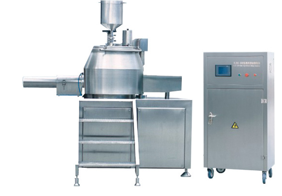 Intelligent automatic efficient wet granule machine