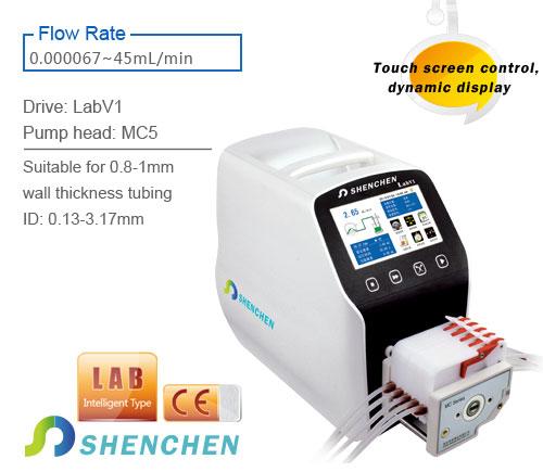 Flow Rate Pump LabV1