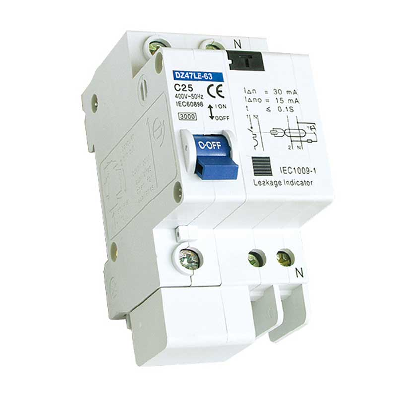 DZ47LE-63 Residual Current Operated Circuit Breaker