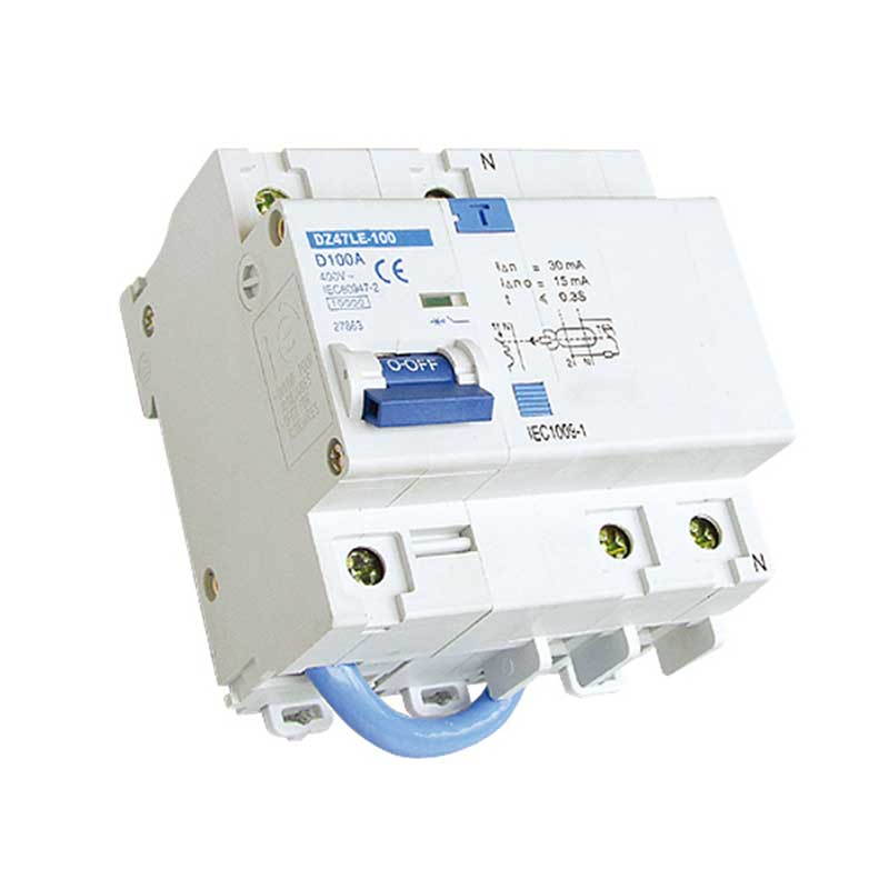 DZ47LE-100 Residual Current Operated Circuit Breaker With Over-current Protection