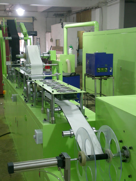 Velcro Tape Coating Laminating Machine