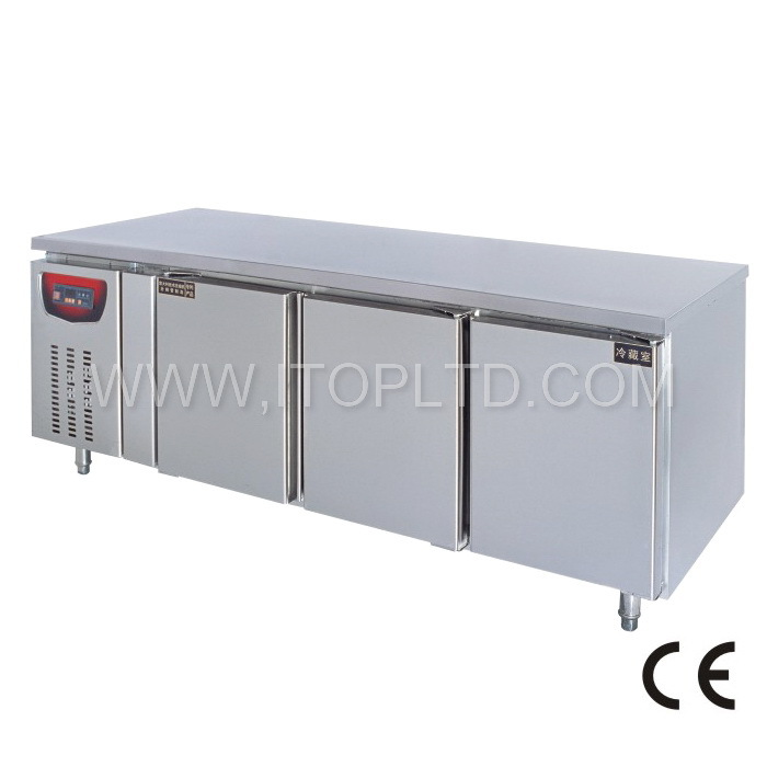 Deluxe Panel Type Commercial Freezer Work Table