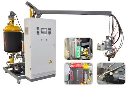 Low Pressure PU Polyurethane Foam injection trowel making Machine