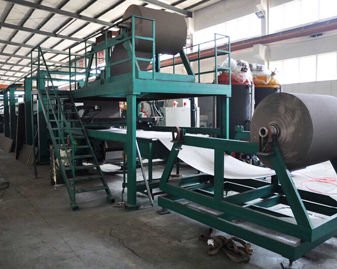 Continuous polyurethane pu foam sandwich panel production line