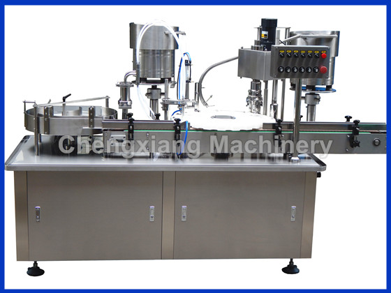 CX-ZG Round Bottle Capping Machine(filling capping plugging)