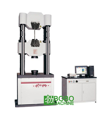 Hydraulic testing machine