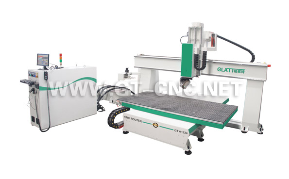 5 Axis CNC Router GTW1224