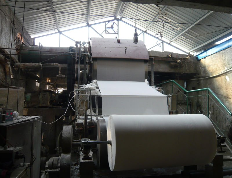 1575mm toilet paper machine