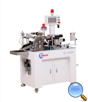 XT-618S Fully Automatic 6 Spindles Coil Winding Machine(Stretching/soldering/glue dispensing)