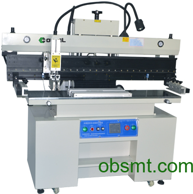 LED Semi-automatic solder paste printer