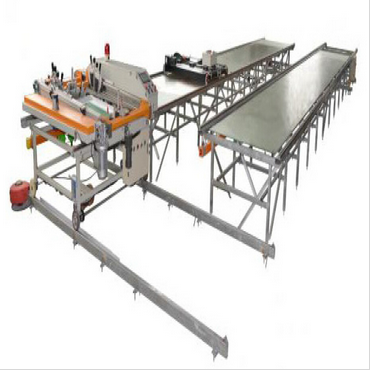 Automatic running table screen printing machine
