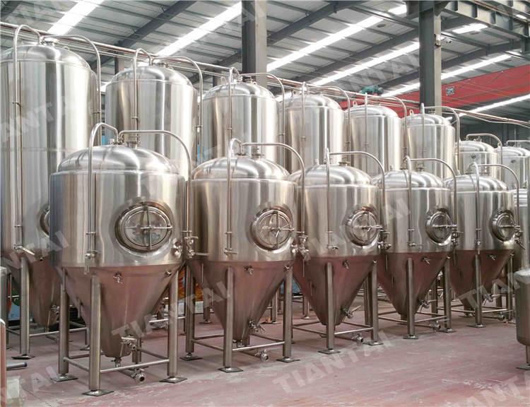5000L Microbrewery fermenter