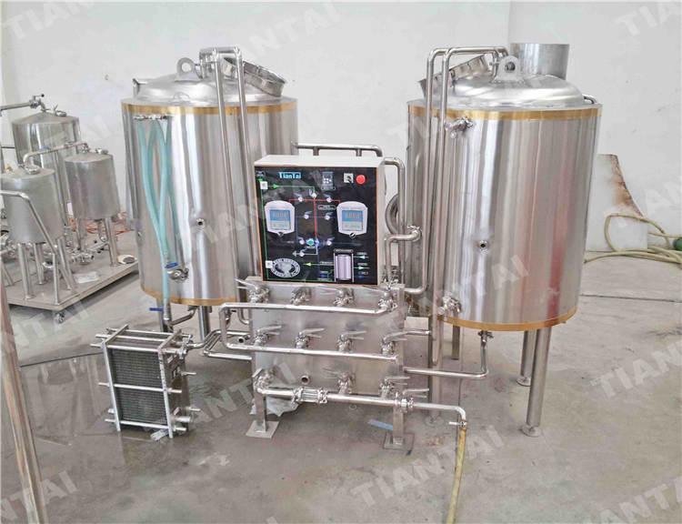 4 bbl Hotel beer making equipment
